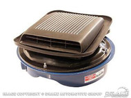 1969-1970 Ford Mustang shaker air cleaner assembly, small block.  Fiberglass construction. High quality reproduction.