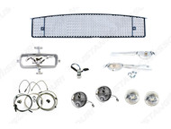 1965 Fog Lamp Conversion Kit with Grille