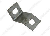 1969-1970 Ford Mustang bumper to fender bracket.  Fits left or right side.