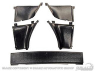 1967-68 Fastback Upper Quarter Trim Set