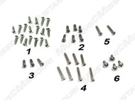 1967-1968 Ford Mustang interior screw kit for coupe.