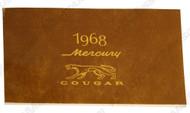 1968 Cougar Owners Manual