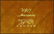 1967 Cougar Owners Manual