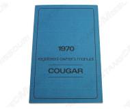 1970 Mercury Cougar Owners Manual