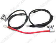 1967 Ford Mustang battery cable set, concours correct.