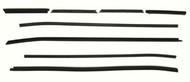 1971-73 Weatherstrip Beltline Convertible