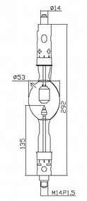 ASL XD3000SD/G Xenon Lamp