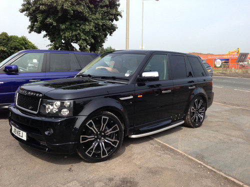 Range Rover Sport Autobiography Body Kit Fitted And