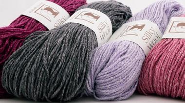Silky Wool Yarn