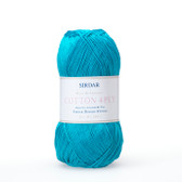 Sirdar Cotton 4 ply yarn.