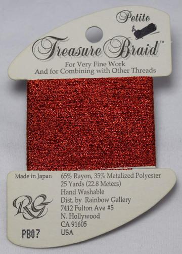 Rainbow Gallery Petite Treasure Braid Needlepoint Thread