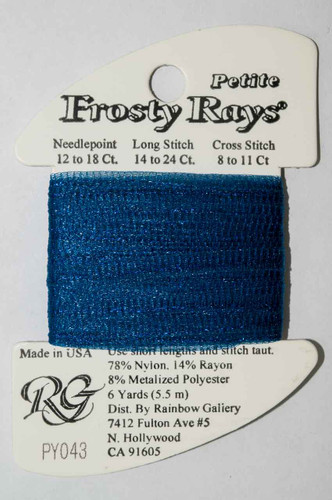 Rainbow Gallery - Petit Frosty Rays - Needlepoint Threads