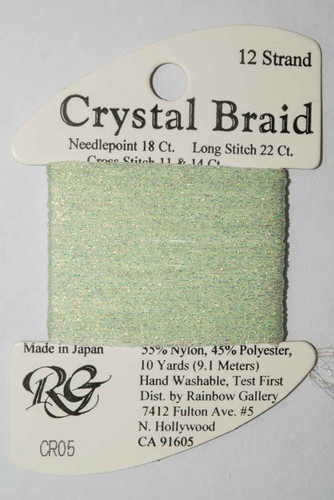 Rainbow Gallery Crystal Braid Needlepoint Thread