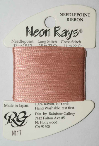 Rainbow Gallery - Neon Rays Needlepoint Thread