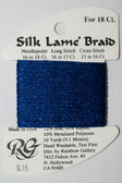 Rainbow Gallery - Silk Lame Braid 18 Needlepoint Thread