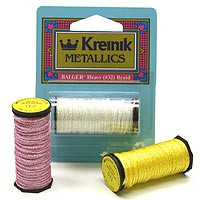 Kreinik Metallic Threads Heavy #32 Braid