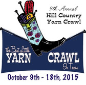 2015 Hill Country Yarn Crawl Passport
