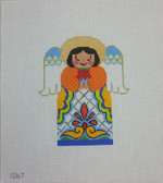 Tapestry Fair - 1067 Talavera Angel Blanca - Needlepoint Canvas