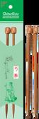 "ChiaoGoo Single Point Knitting Needle 9"" (23 cm), Patina"