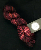 Yarn Barn Hand-Dyed Fibers - Blood Orange Bulky Yarn