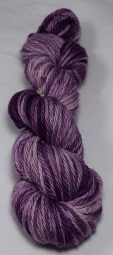 Yarn Barn Hand-Dyed Fibers - Purple Rain Bulky Yarn