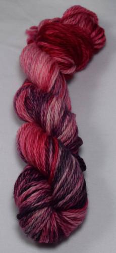 Yarn Barn Hand-Dyed Fibers - Grey Rose Bulky Yarn
