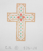 Hand-Painted Needlepoint Canvas - Creative Needle - 526-JH - Cross