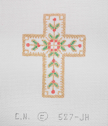 Hand-Painted Needlepoint Canvas - Creative Needle - 527-JH - Cross