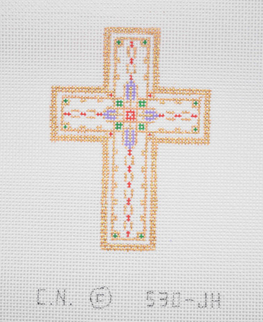 Hand-Painted Needlepoint Canvas - Creative Needle - 530-JH - Cross