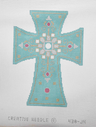 Hand-Painted Needlepoint Canvas - Creative Needle - 438-JH - Cross