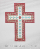 Hand-Painted Needlepoint Canvas - Creative Needle - 431-JH - Cross