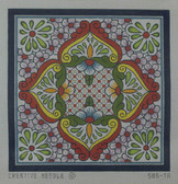 Hand-Painted Needlepoint Canvas - Creative Needle - 585-TA - Tile