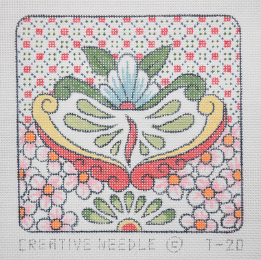 Hand-Painted Needlepoint Canvas - Creative Needle - T-2D - Ornament