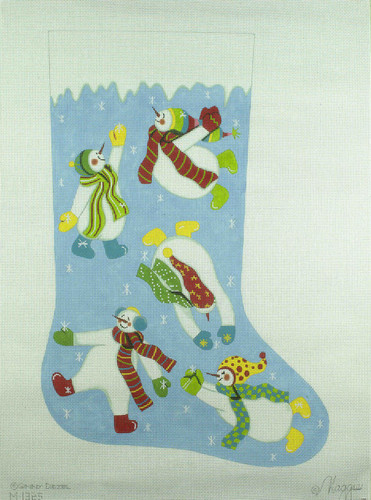 Hand-Painted Needlepoint Canvas - Maggie Co - M-1325 - Frost & Frolic