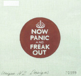 Hand-Painted Needlepoint Canvas - Unique NZ Designs - 70399 - Freak Out