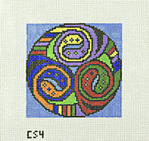 Hand-Painted Needlepoint Canvas - Camus International - CS4 - Celtic Knot 1