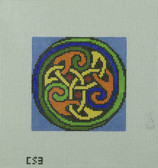Hand-Painted Needlepoint Canvas - Camus International - CS3 - Celtic Knot 2