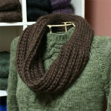 Polar Vortex pattern designed by Kay Hopkins. Use only one skein of Cascade Magnum 100% Peruvian Highland Wool