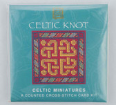 Celtic Knot One Counted Cross Stitch Card Kit