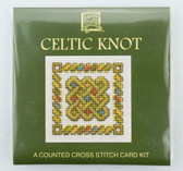 Celtic Knot Two Counted Cross Stitch Card Kit