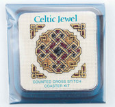 Celtic Jewel Counted Cross Stitch Coaster Kit