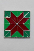 Mag Friends Large Classic – Christmas Quilt Square Magnet
