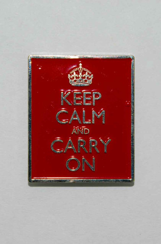 Mag Friends Large Classic – Keep Calm – Red Magnet