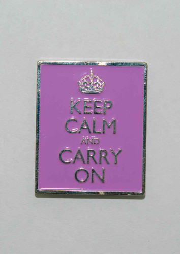 Mag Friends Large Classic – Keep Calm – Orchid Magnet
