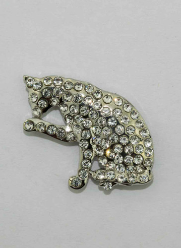 Mag Friends Glamorous – Clear Cat Magnet