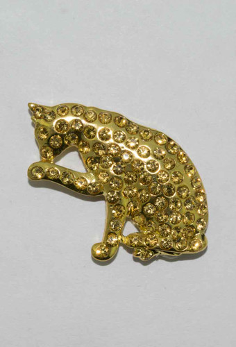 Mag Friends Glamorous – Gold Cat Magnet