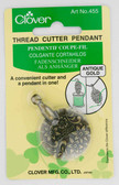 Clover – Thread Cutter Pendant – Antique Gold