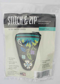 Stitch and Zip Needlepoint Kit – SZ925 – Pretty Posies Scissor Case