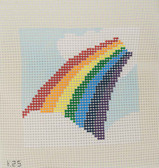The Collection – Beginner Needlepoint Kit – Rainbow
