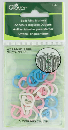 Clover – Split Ring Markers